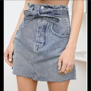 NEW Free People East Of Eden high rise mini skirt